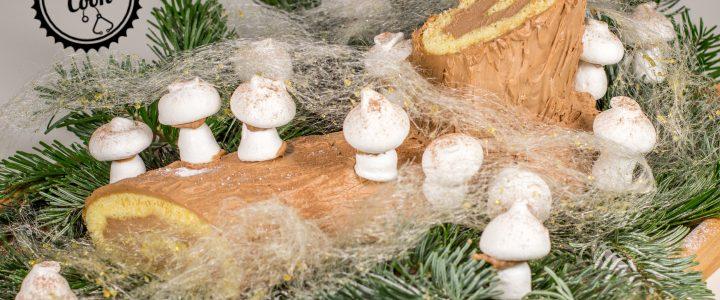 Čokoládové vánoční poleno