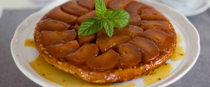 Jablečný koláč Tatin