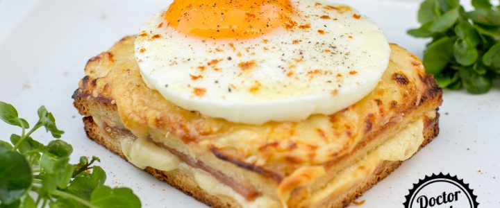 Croque-monsieur / croque-madame