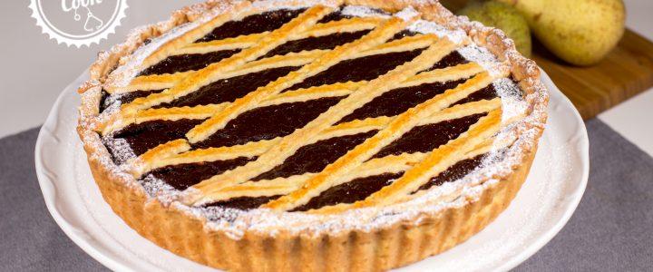Hrušková crostata s čokoládou