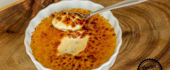 Vanilkový crème brulée