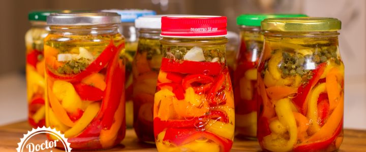 Syrové papriky v oleji